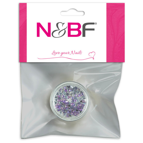 Nails-and-Beauty-Factory-Strasssteine-Rhinestones-Triangle-Lilac