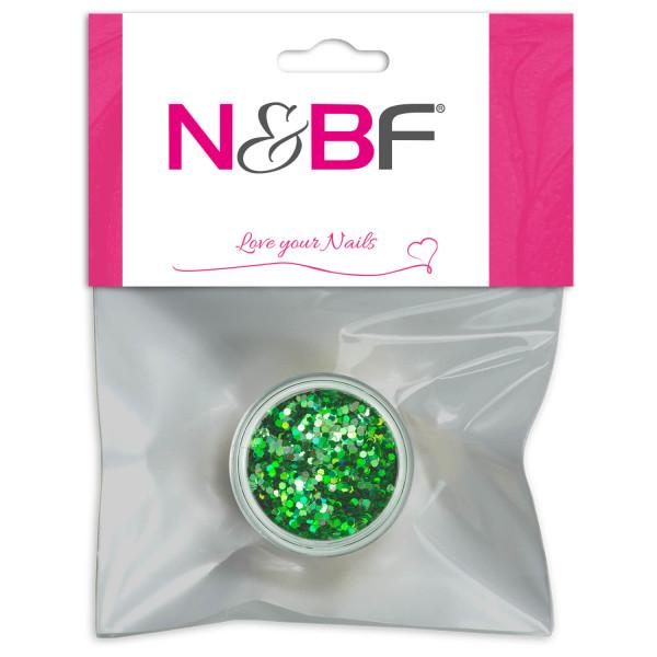 Nails Factory Nailart Pailletten klein Green Blister