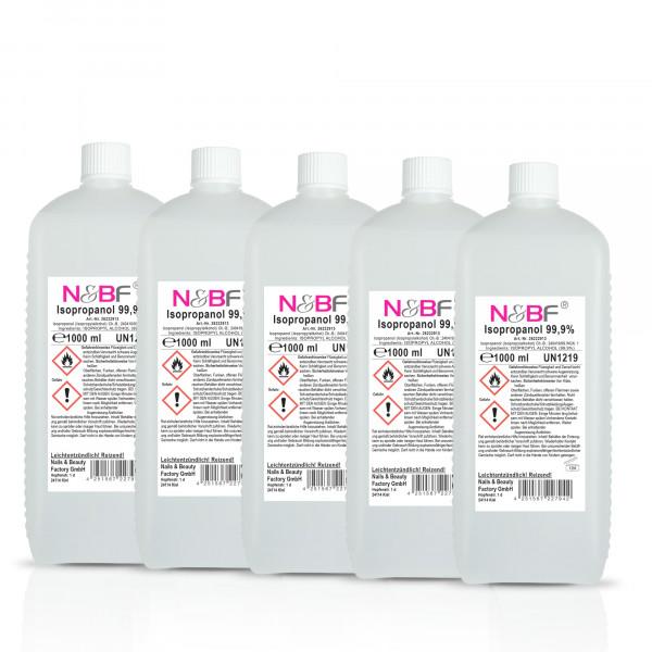 Nails & Beauty Factory Nagelcleaner 99,9% 5L Isopropanol Alkoholanteil kosmetisch rein