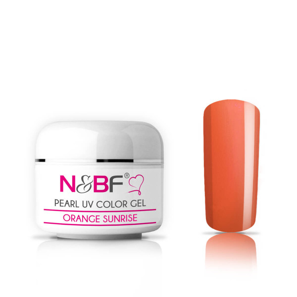 Nails-and-Beauty-Factory-Pearl-UV-Color-Gel-Farbgel-Orange-Sunrise