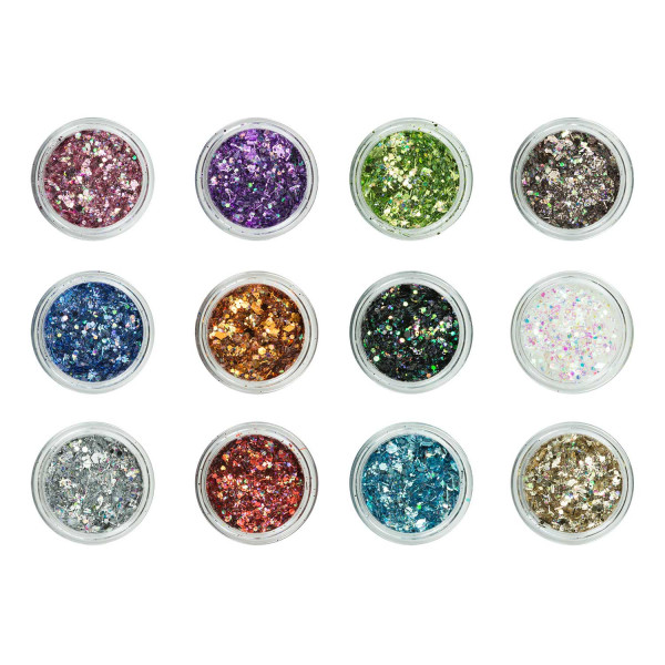 Nails Factory Nailart Glitter Mix Elegance 12er Set