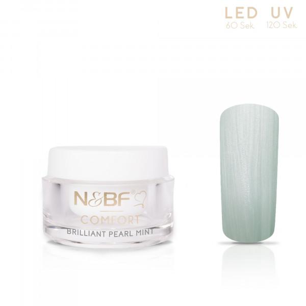 Nails & Beauty Factory Comfort Farbgel Brilliant Pearl Mint 5ml