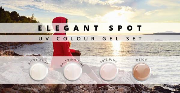 Nails & Beauty Factory Elegant Spot Farbgel 4er Set