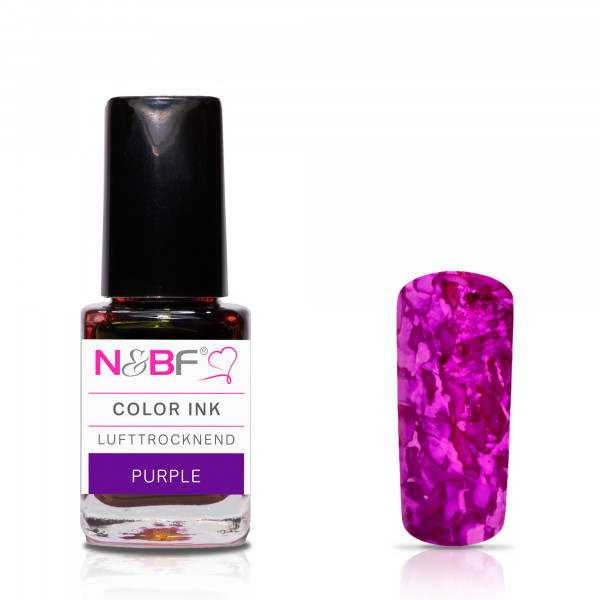 Nails & Beauty Factory Color Ink Purple 12ml