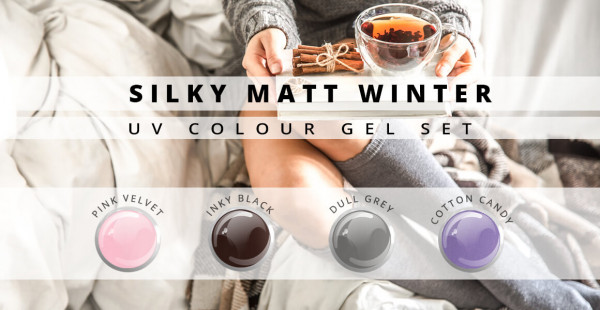 Nails and Beauty Factory Color Gel Set Silky Matt Winter
