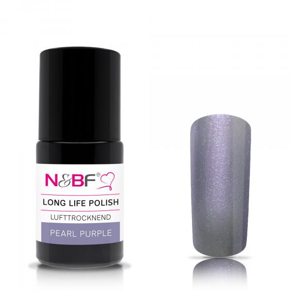 Nails & Beauty Factory Long Life Nagellack Pearl Purple 15ml