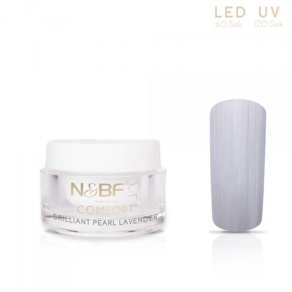 Nails & Beauty Factory Comfort Farbgel Brilliant Pearl Lavender 5ml