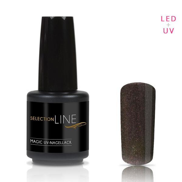 Nails & Beauty Factory Selection Line Magic UV Nagellack Black Aubergine 15ml